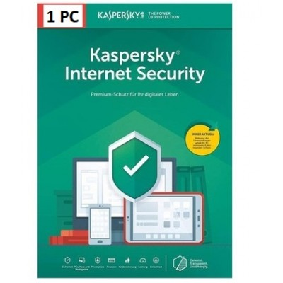 Kaspersky Internet Security 2021 1PC 1Anno ESD