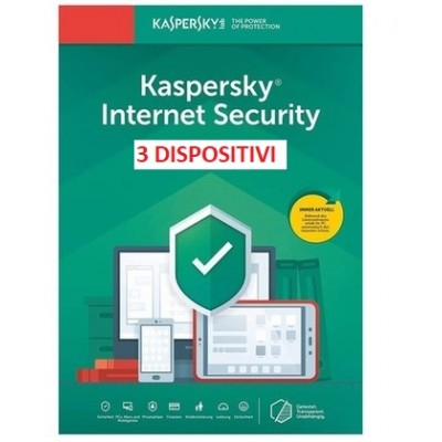 Kaspersky Internet Security 2021 3PC 1Anno ESD
