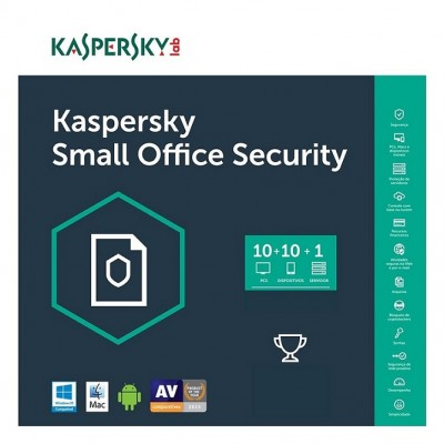 Kaspersky Small Office Security 1 Server 10 PC 10 Mobile