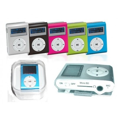LETTORE MP3 CLIP CON DISPLAY