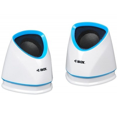SPEAKERS iBOX 2.0 MOLDE WHITE