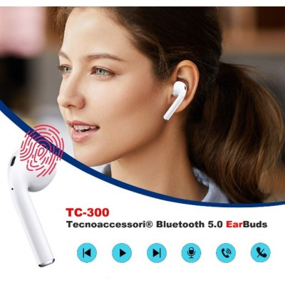 AURICOLARI BLUETOOTH TC-300